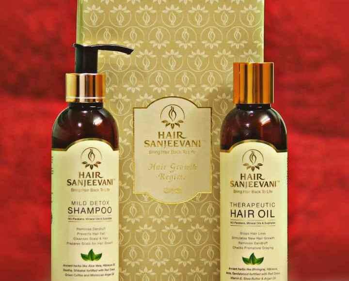 Review of Hair Sanjeevani hair Loss shampoo and oil