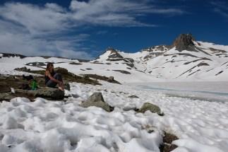 Ice Lake still frozen