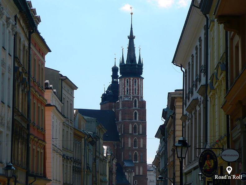 kościół mariacki na rynku w piosenkach o krakowie