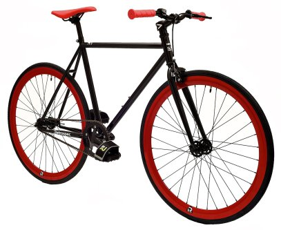Retrospec Mantra Fixie Bicycle with Sealed Bearing Hubs and Headlamp