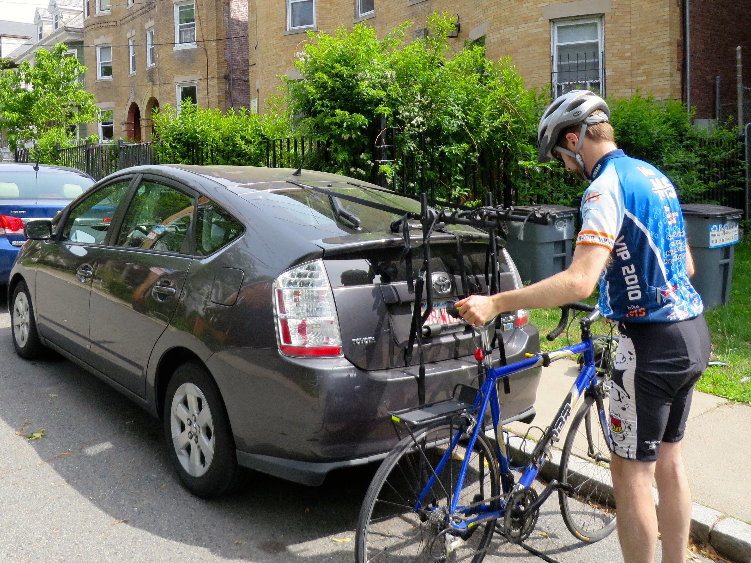 prius bike rack