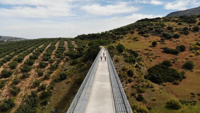 Via verde ruta del aceite.