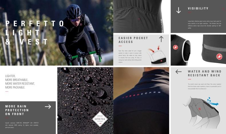 Perfetto light & Vest. Castelli Cycling.