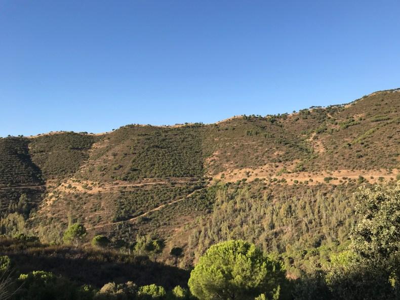 Sierra de los Puntales.