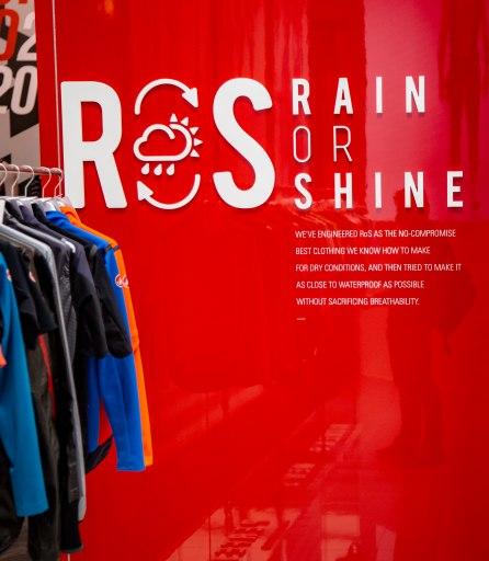Castelli Cycling RoS. Rain or Shine.
