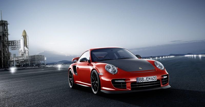 2011 Porsche 911 GT2 RS in Red