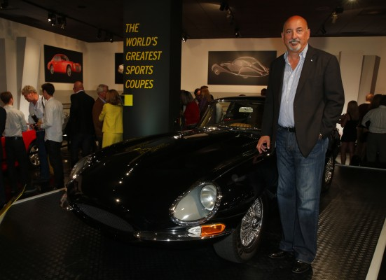 Bobby Rahal with Jaguar Series 1 Coupe