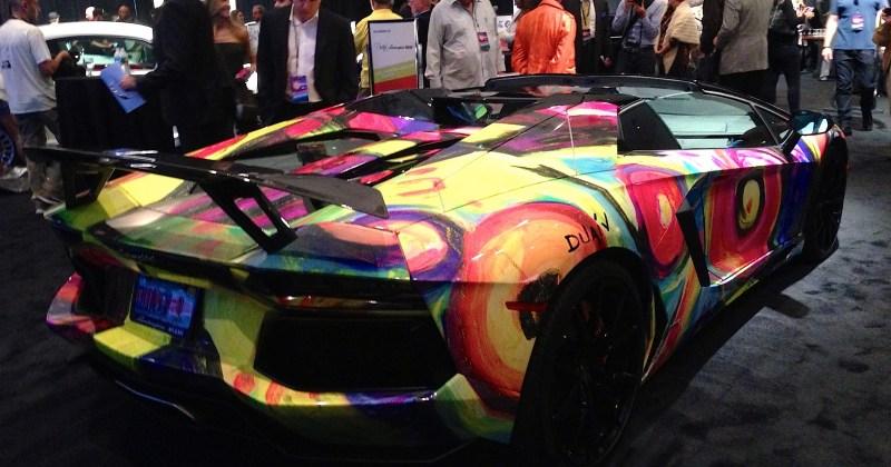 2014 Miami Auto Show Art Cars - Lamborghini