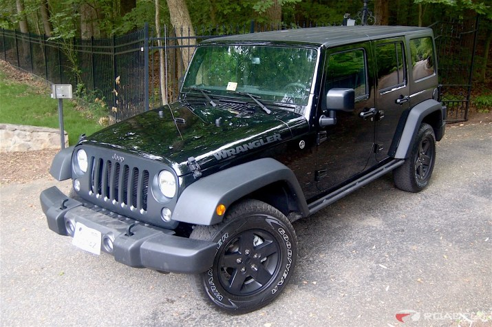 2016 Jeep Wrangler Unlimited Roadfly Jeep Build Black hardtop