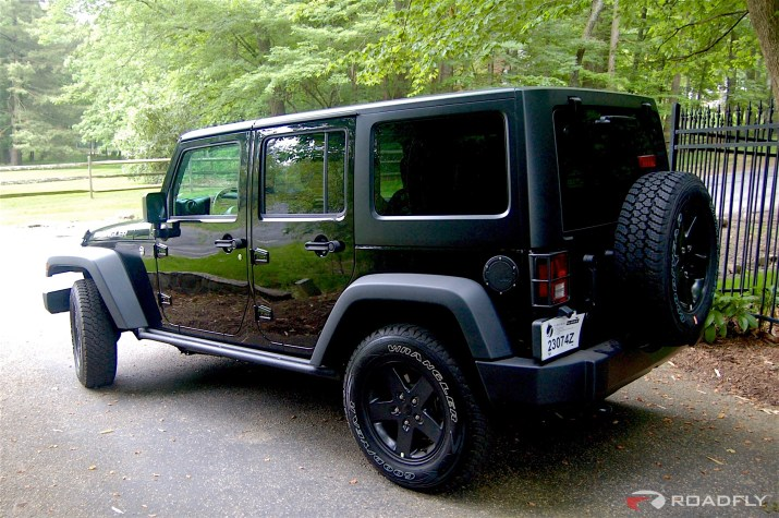 2016 Jeep Wrangler Unlimited Roadfly Build Black Softop