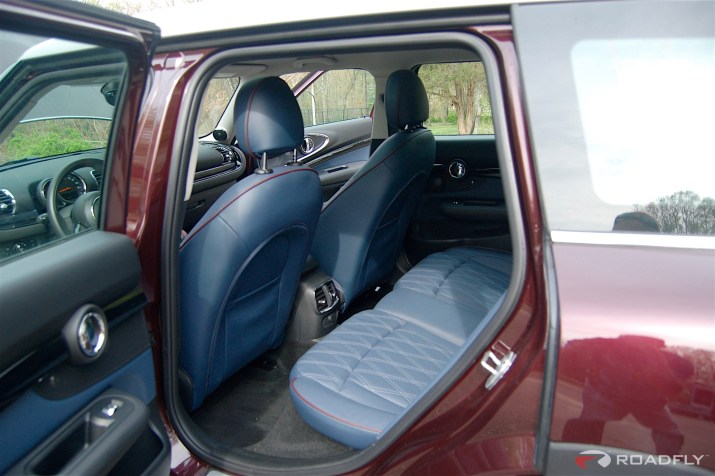 2016 MINI Clubman Rear Seat Leg Room