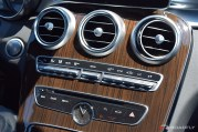 2017 Mercedes-Benz C-Class Coupe Center Dashboard
