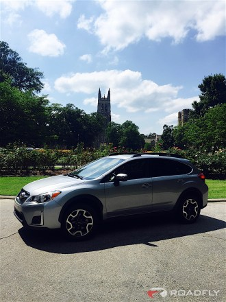 2016 Subaru Crosstrek Duke University Tower