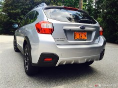 2016 Subaru Crosstrek Rear View