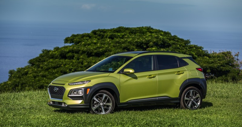Hyundai Kona Lime Green Metallic