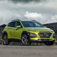Hyundai Kona Green Metallic