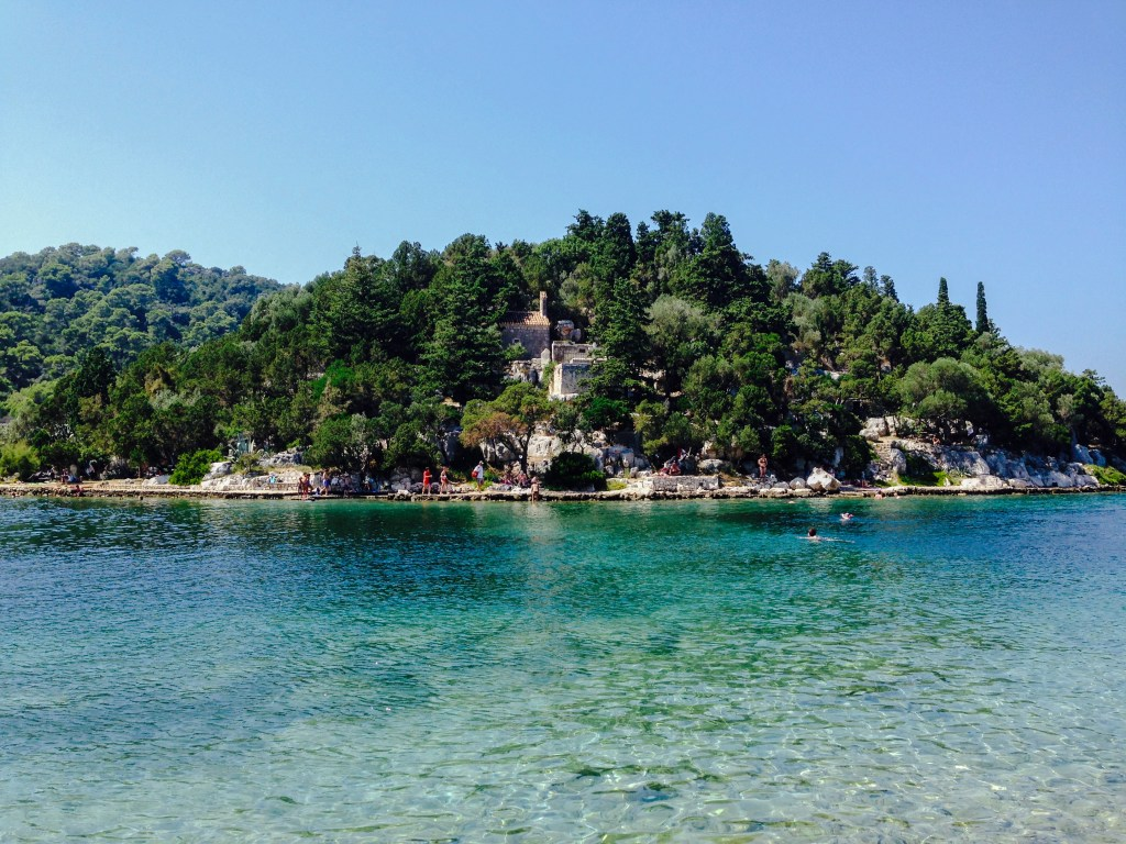 Swim to Mljet Monastery, Croatia 2014