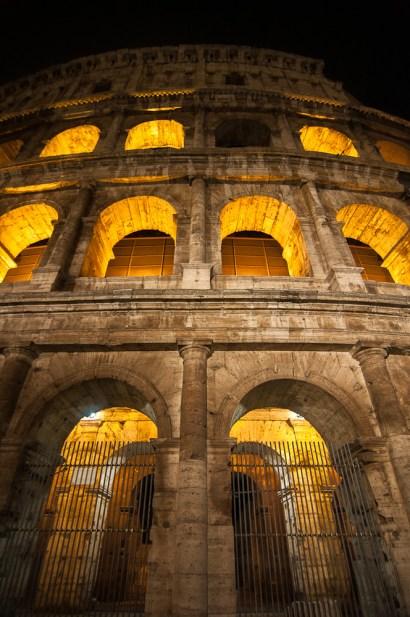 Colosseum at Night 4