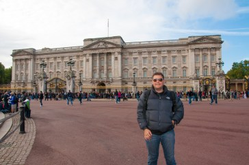 Buckingham Palace, London, England.