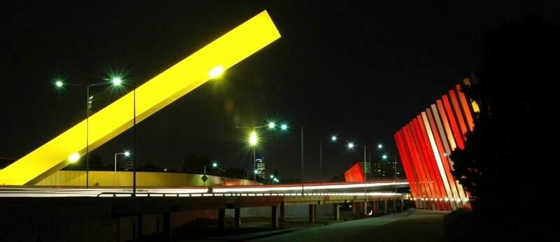 Melbourne's 'Citylink' freeway