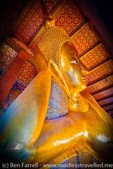 The 'Reclining Buddha' at Wat Pho, Bangkok