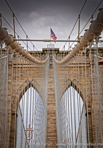 The Brooklyn Bridge, New York, USA