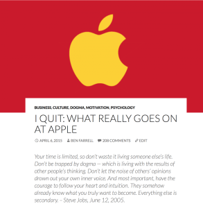 Apple Article Header