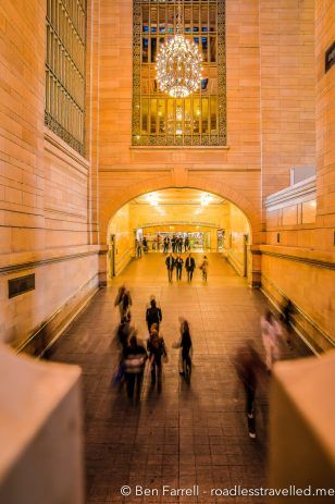 The ornate art deco architecture of Grand Central Terminal in New York