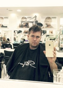 Haircut... Ok, haircuts are boring, so this is allowed...