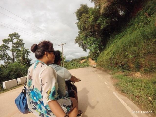 en route to nacpan beach