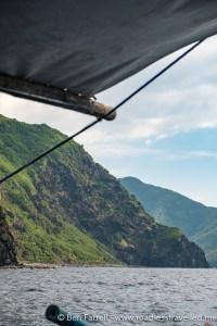 Boat from Pundaquit Beach to Anawangin Cove