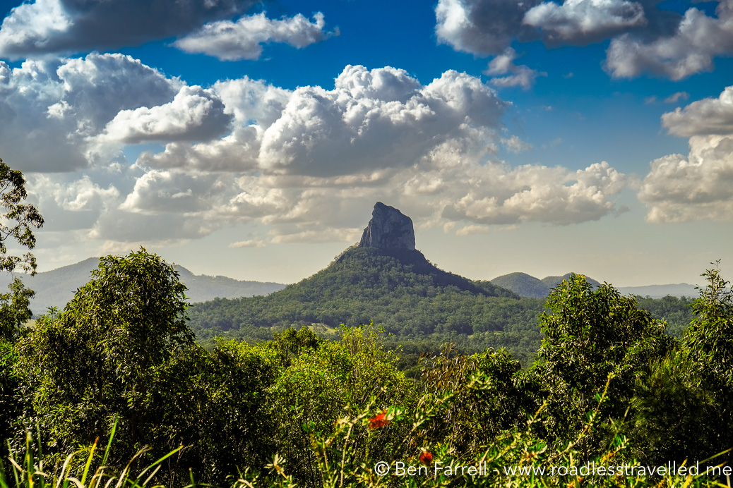 Glass House Mountains Road Less Travelled