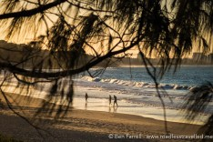 A dusk walk on Mooloolaba Beach, Australia