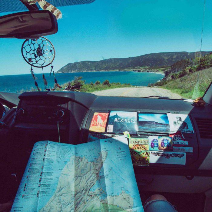 mini-van pour les road trips