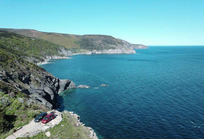 Boondocking au Cap Breton