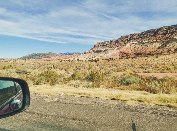 Sur la route au sud-ouest