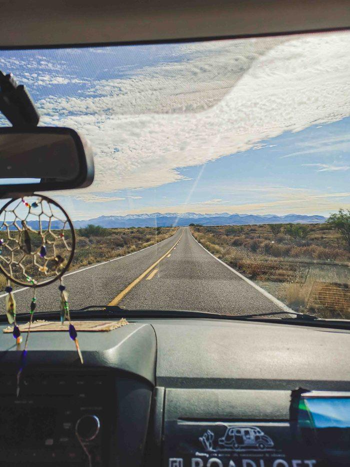 Plaine désertique, Arizona