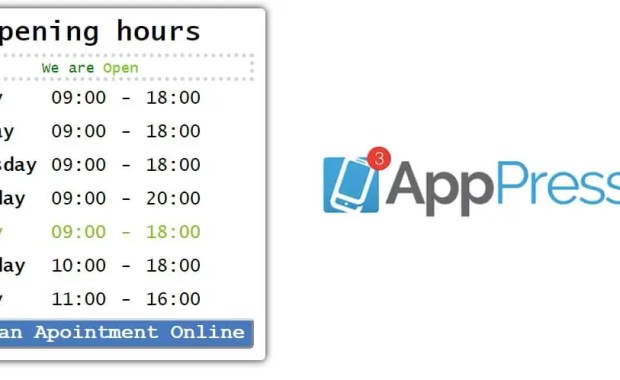 Appency Apppresser custom page