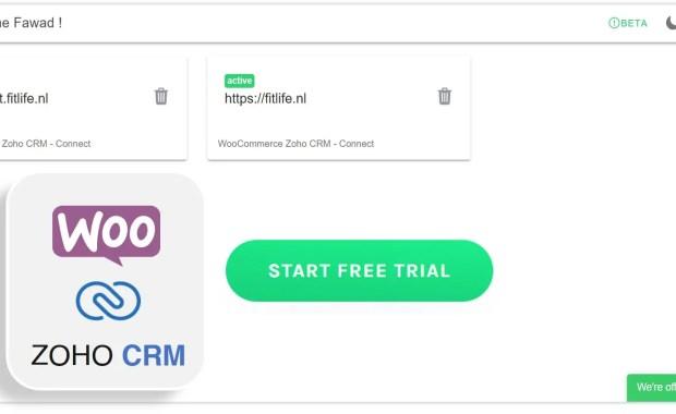 woocommerce zoho crm beta launch