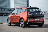 BMW i3 from the back