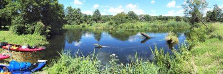 obra kanu paddeln