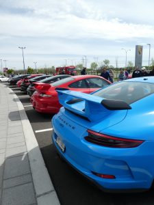 Porsche GT3 on Porsche&Coffee at Porsche Rive Sud Montreal for Road Rug Cars RoadRugCars Galiffi Brothers Cars