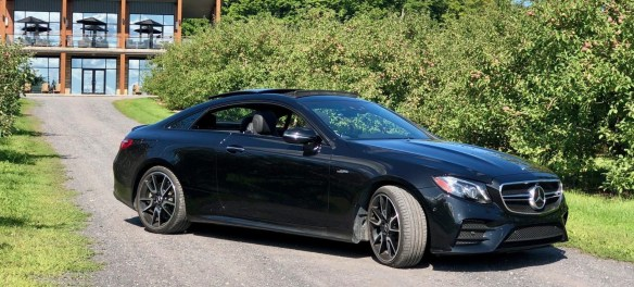 mercedes amg e53 coupe side
