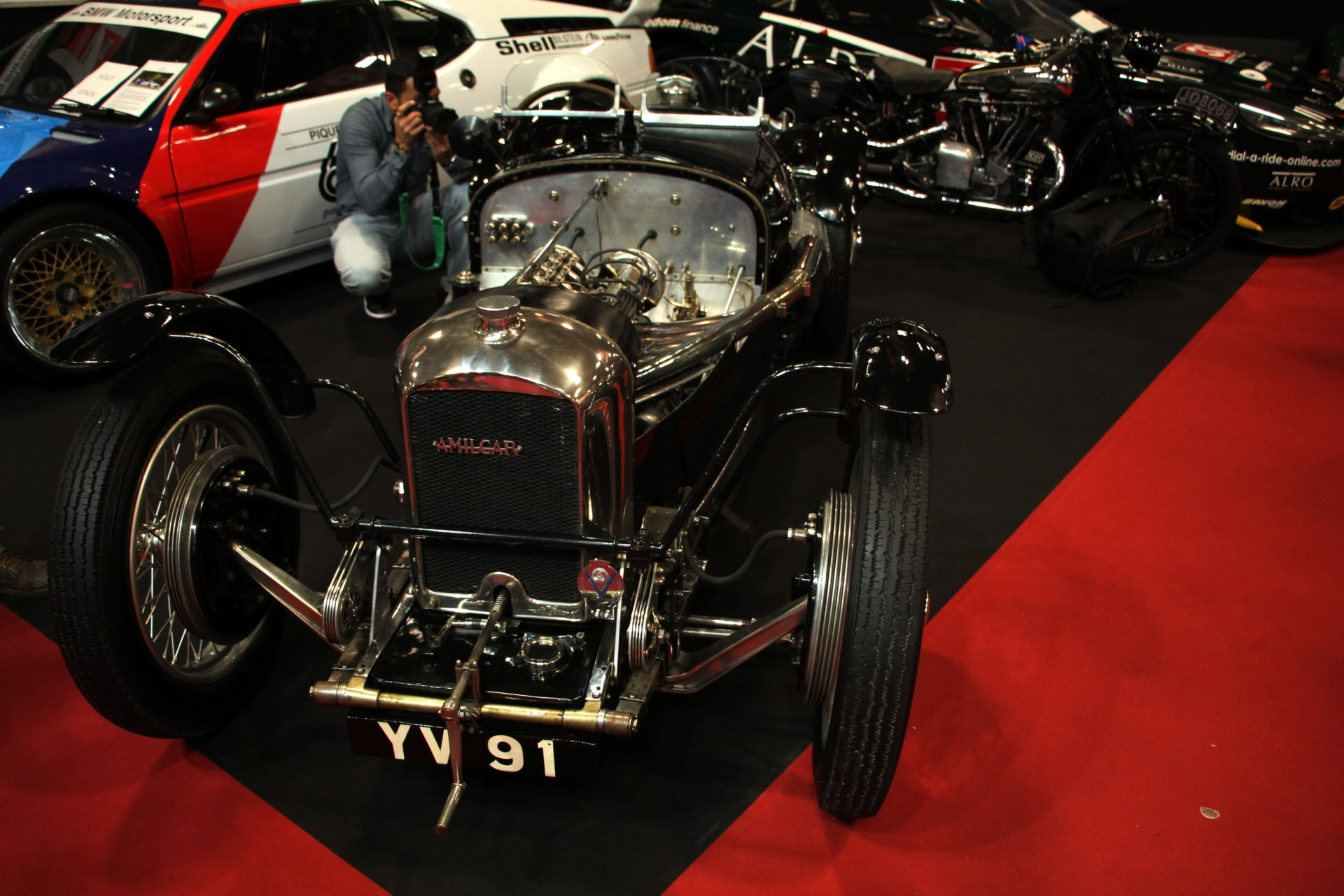 Amilcar C6 Brooklands - Retromobile - top 10 - Brooklands