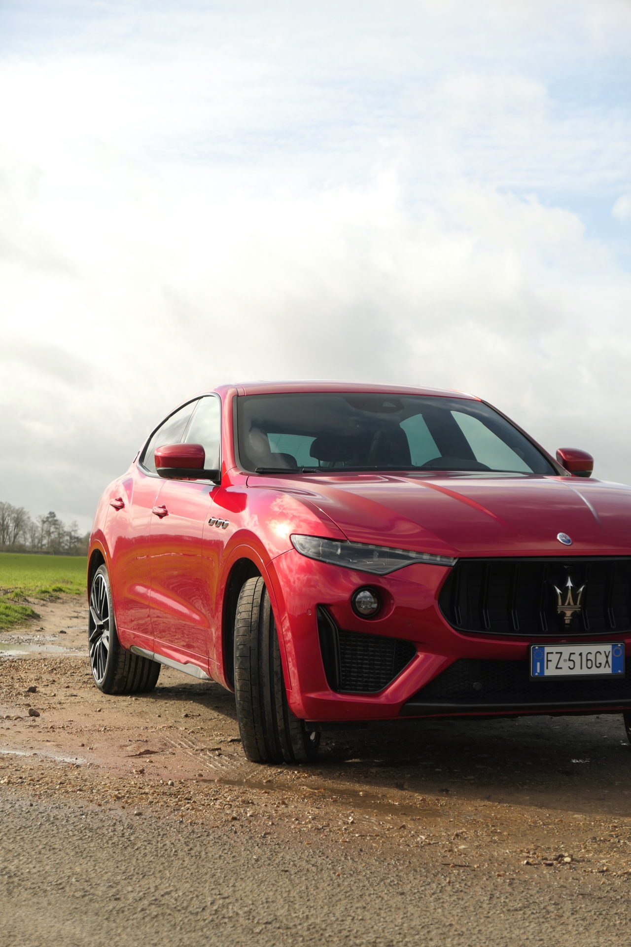 roadrugcars road rug cars maserati levante trofeo front part