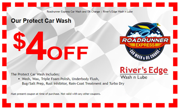 $4 OFF Car Wash Coupon