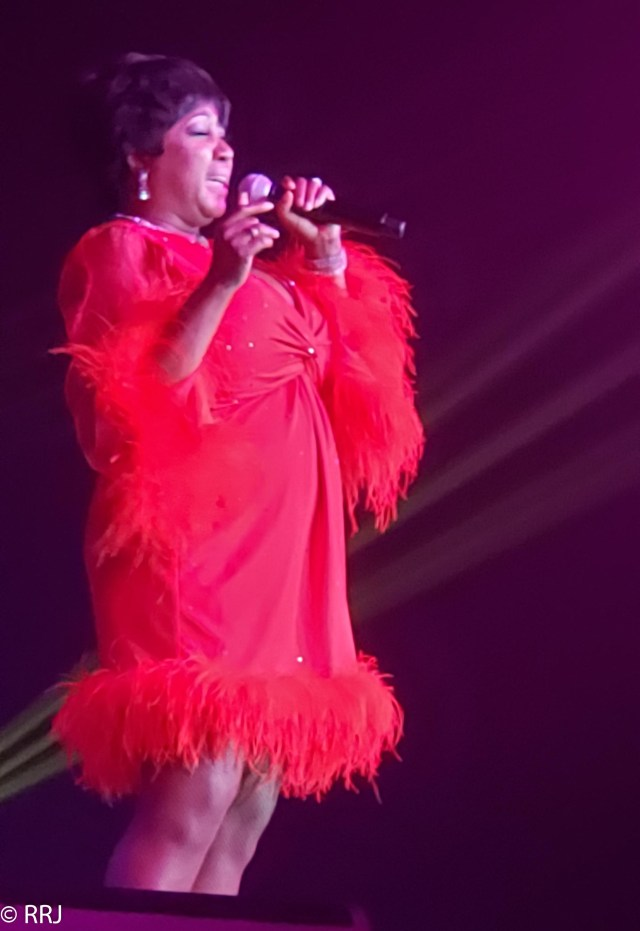 Aretha at Legends in Concert in Downtown OWA