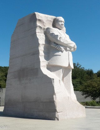 Martin Luther King overlooking the Potomac