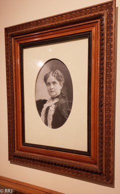 Ida McKinley photograph at the William McKinley Presidential Library and Museum