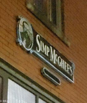 Simp McGhee's Decatur Alabama